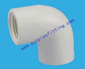 SCH40 PVC FITTING 90 DEG FEMALE ELBOW