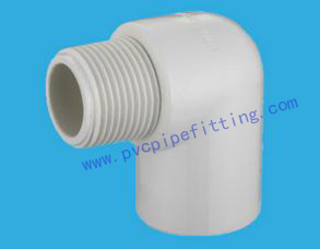 SCH40 PVC FITTING FEMALE ELBOW