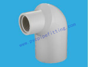 SCH40 PVC FITTING REDUCING 90 DEG FEMALE ELBOW