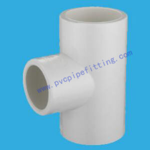 SCH40 PVC FITTING REDUCING TEE