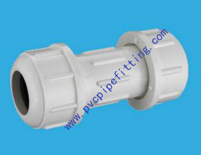 SHC40 PVC FITTING COMPRESSION COUPLING