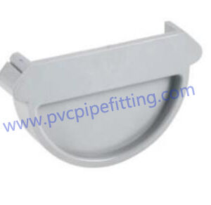 125MM pvc gutter End cap