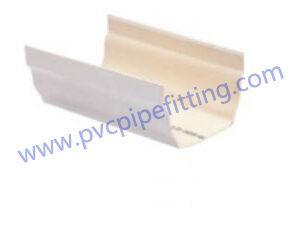 125mm pvc gutter Square rain gutter