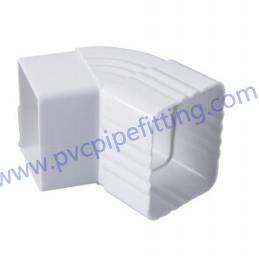 7 inch pvc gutter 65 DEG elbow