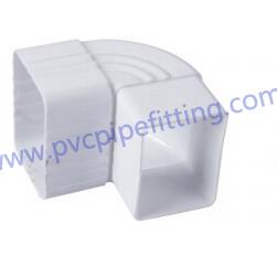 7 inch pvc gutter 90 DEG elbow