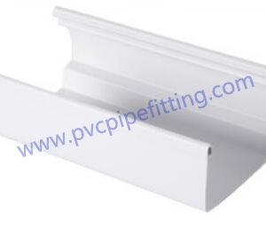 7 inch pvc rain gutter