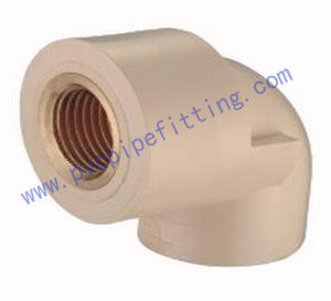 CPVC DIN FITTING FEMALE ELBOW BRASS THREADED