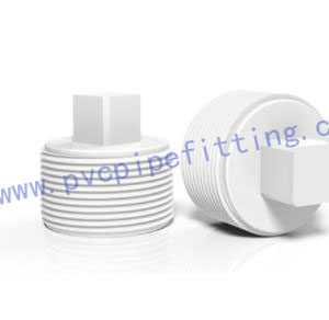 GB PVC FITTING MALE PLUG FOR WATER SUPPLY