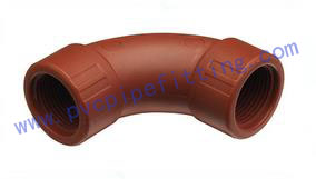 IPS PPH THREADED FITTING BEND