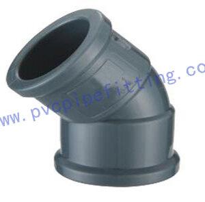 NBR PVC FITTING 45°ELBOW