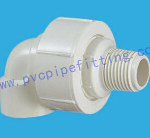 PVC BSP THREADABLE FITTING FEMALE AND MALE UNION ELBOW
