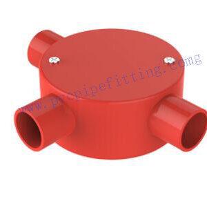 PVC ELECTRICAL CONDUIT 3 WAY CONDUIT BOX