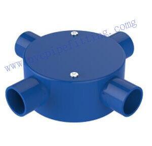 PVC ELECTRICAL CONDUIT 4 WAYS CONDUIT BOX