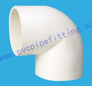 PVC FITTING 90 DEG ELBOW DIN