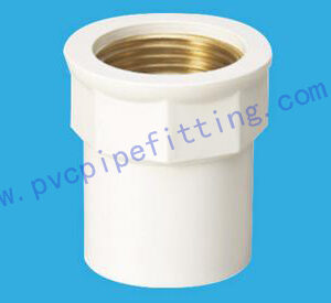 PVC FITTING FEMALE COUPLING (COPPER THREAD)