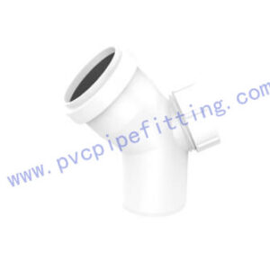 PVC Gasketed FITTING 45 DEG BEND WITH PORT