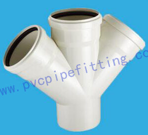 PVC Gasketed FITTING SKEW CROSS