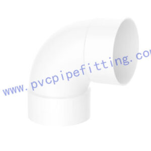 SCHEDULE 40 PVC DWV FITTING 90 DEG ELBOW(ASTM D2665)
