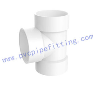 SCHEDULE 40 PVC DWV FITTING TEE (ASTM D2665)