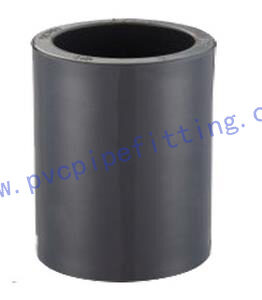 SCHEDULE 80 PVC FITTING COUPLING