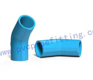 TIS PVC FITING 45 DEG ELBOW