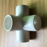 4 way Pvc fitting tee furniture grade(sch40 pvc fitting side outlet tee)