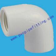 SCH40 PVC FITTING 90 DEG FEMALE ELBOW