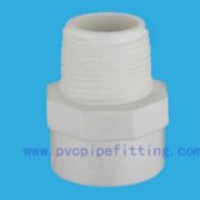 SCH40 PVC FITTING MALE ADAPTER