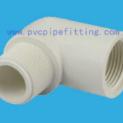 SCH40 PVC FITTING MALE AND FEMALE ELBOW