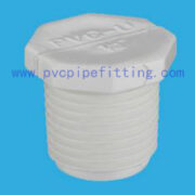 SCH40 PVC FITTING MALE THREAD PLUG