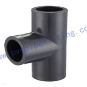 SCHEDULE 80 PVC FITTING EQUAL TEE
