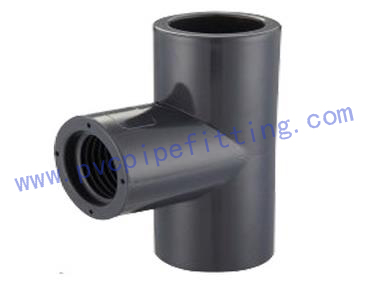 SCHEDULE 80 PVC FITTING FEMALE TEE