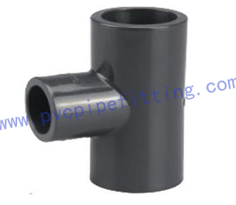 SCHEDULE 80 PVC FITTING REDUCING TEE