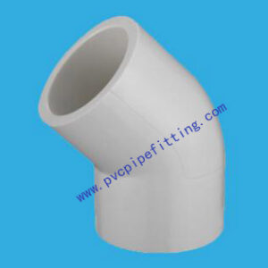 SHC40 PVC FITTING 45 DEG ELBOW