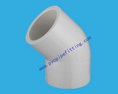 SHC40 PVC FITTING 45 DEG ELBOW