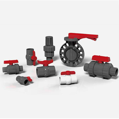 PVC BALL VALVE AND CPVC BALL VALVE AND PP BALL VALVE
