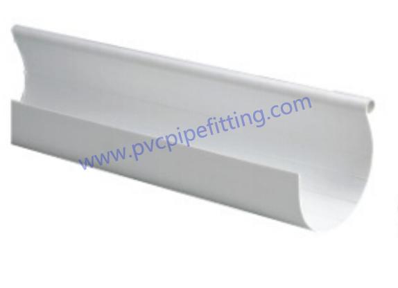110mm half round pvc gutter
