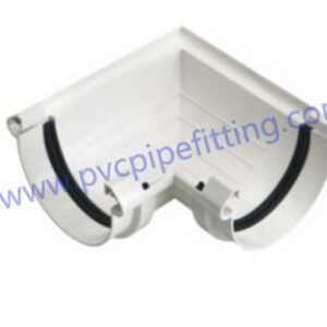 110mm pvc gutter 90 deg connector with gasket