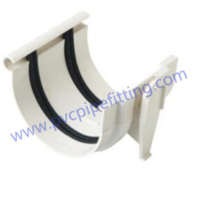 110mm pvc gutter Coupling with gasket