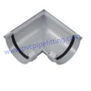125MM pvc gutter Angle connector