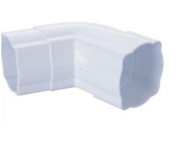 125mm pvc gutter Square 45 elbow M