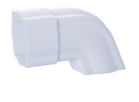 125mm pvc gutter Square 45DEG elbow