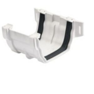125mm pvc gutter Square coupling