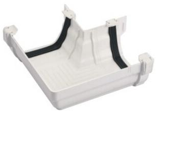 125mm pvc gutter Square elbow