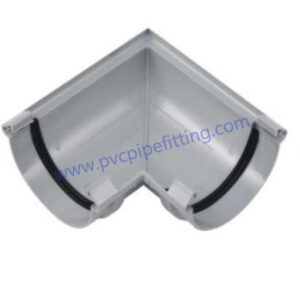 140MM PVC GUTTER Angle connector