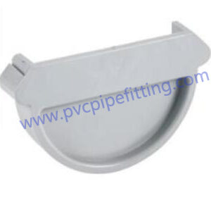 140MM PVC GUTTER End cap