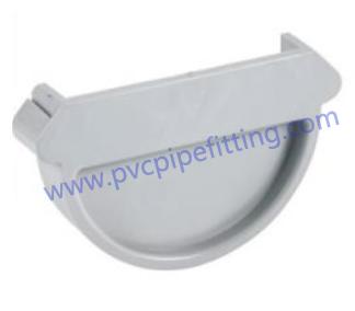 140MM PVC GUTTER End cap