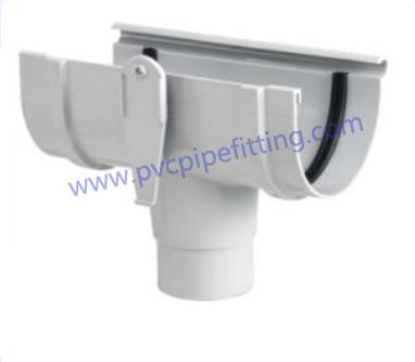 140MM PVC GUTTER Tee