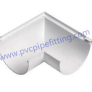 170MM PVC GUTTER Angle connector left