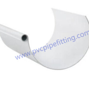 Half Round Gutter Pvc Fitting Factory